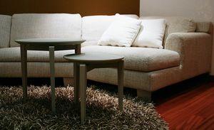 Twin Roma, Mesa de café extraíble en madera de fresno