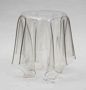 Art. 541 Fantasmino, Mesa de centro de policarbonato transparente, también para el aire libre