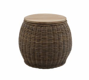 Bongo Bongo 0471, Mesa de centro con tapa de teca