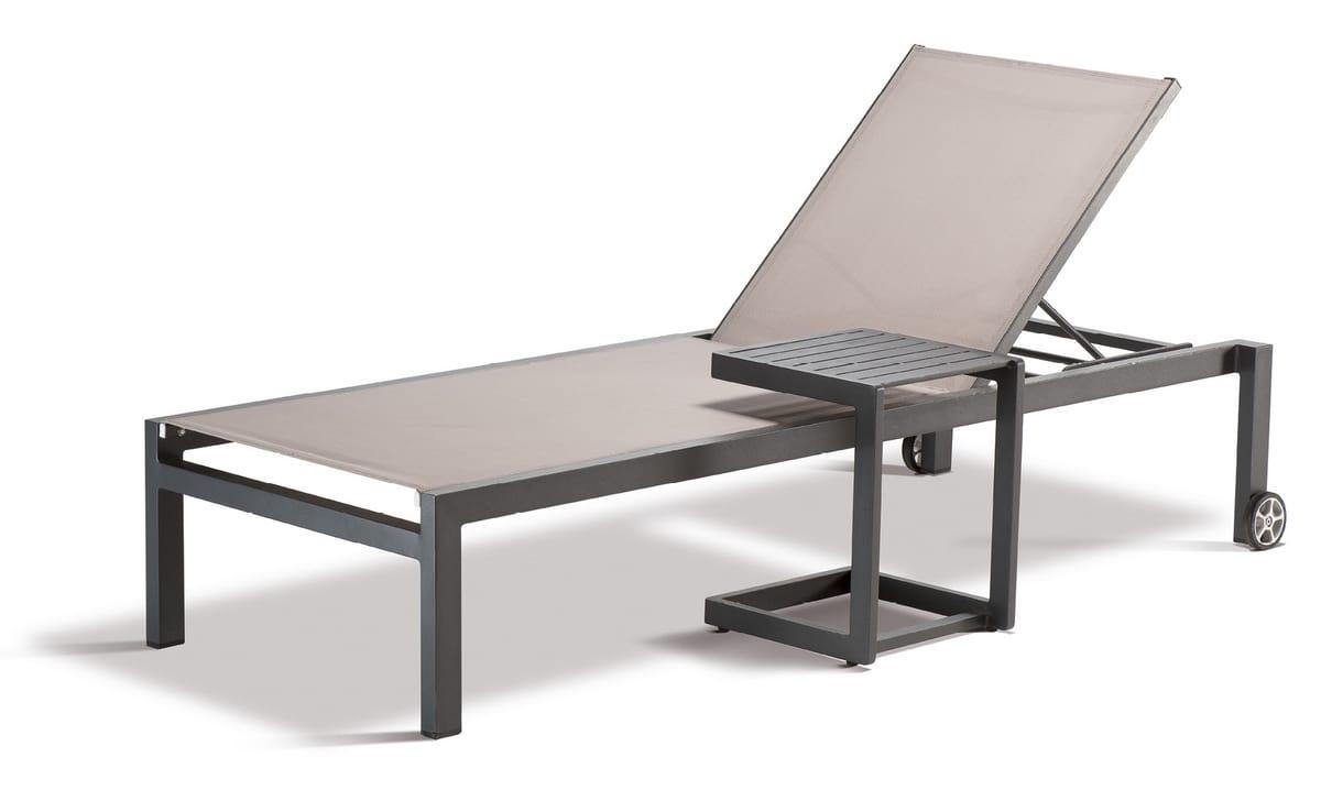FT SANTIAGO, Mesa al aire libre con pies antideslizantes