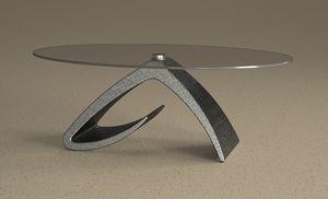 Tritone, Mesa de centro, efecto piedra.