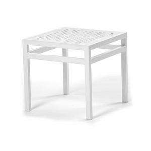 Victor mesa de centro 1, Mesa de centro cuadrada para terrazas y piscinas