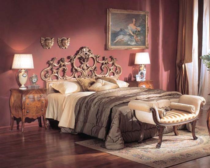 3245 NIGHT TABLE, Mesita de noche de lujo clásico con 2 cajones, hoteles