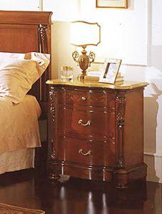 Canova mesilla de noche, Mesita con tapa amarilla real, hoteles de lujo