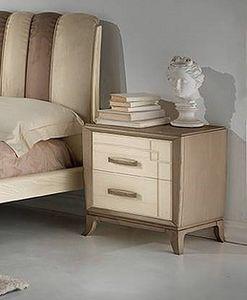 A 701/P, Cama en madera de ceniza bicolor, para hoteles