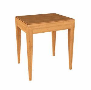 Eleganza mesa de noche, Mesita de noche de madera para hotel