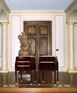 Ruhlmann Art Déco Art. 1534 - 1538, Mesitas de noche de estilo Art Deco