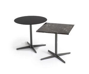 Basic, Colecciones de mesas con base metálica