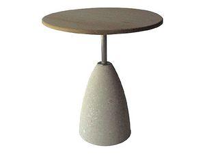 Element 1, Mesa de piedra con tapa de madera, para bares y pubs
