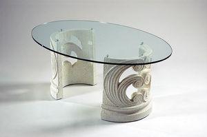 Eros, Mesita clásica con base de piedra