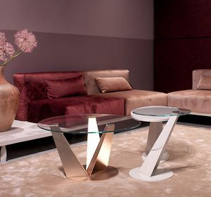 Klee, Mesas de centro, con un diseño esbelto