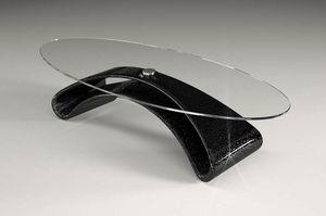 Narciso, Mesa de centro con tapa de cristal