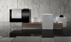 Revolution - mostrador caja para tiendas de ropa, Contador de efectivo con un diseño de moda