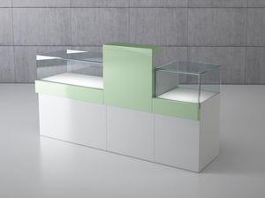 Quadratum frame comp. 03, Contador modular para joyas