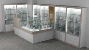 Quadratum frame comp. 10, Pared y mostradores de exhibición para tiendas