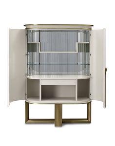 Oliver Art. OL50, Mueble bar con interior espejado