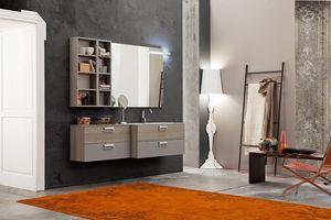 Byte 2.0 comp.06, Gabinete de baño que ahorra espacio con profundidad reducida