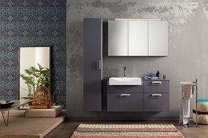 Byte 2.0 comp.09, Composición de muebles de baño con columna