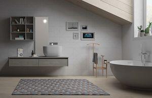 Dress 2.0 comp.04, Mueble de baño de pared, estilo moderno