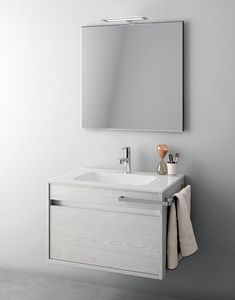 Duetto comp.05, Composición del baño que ahorra espacio
