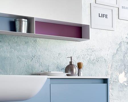 Kami comp.03, Mueble de baño con dimensiones personalizables