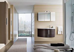 Moon comp.09, Muebles de baño con espejo