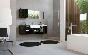 My Fly Evo comp.05, Muebles de baño modernos con poca profundidad