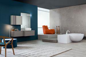 Tender comp.09, Mueble de baño, estilo contemporáneo
