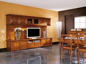 Art.106/L, TV de mueble de madera, de estilo clásico