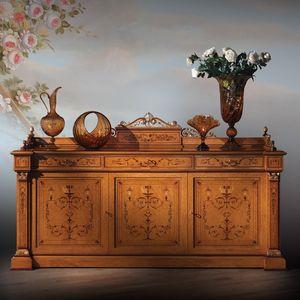 Gabinete 1061, Muebles de estilo Carlo X
