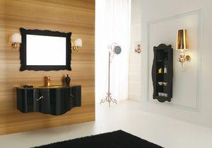 DECÒ D05, Mueble bajo lavabo suspendido