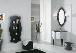 DECÒ D07, Mueble bajo lavabo lacado con cajones.
