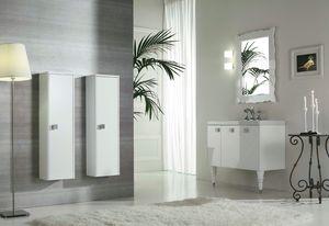 DECÒ D12, Mueble bajo lavabo lacado con puertas