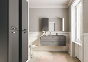 Dressy comp.01, Muebles de baño, con estilo tradicional