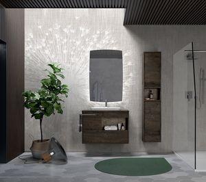 Lume comp.03, Composición del baño de estilo moderno