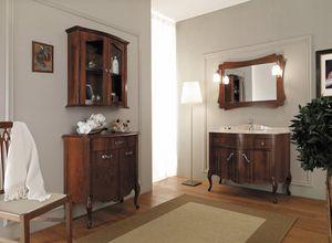 NARCISO 05, Mueble de lavabo de madera