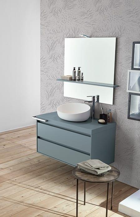 Mueble de ba o con lavabo sobre encimera idfdesign for Muebles de bano con lavabo sobre encimera