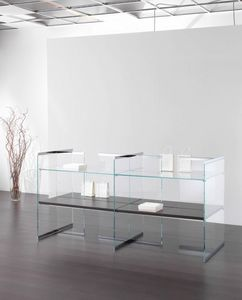 Glassystem COM/GS18, Vitrina para tienda