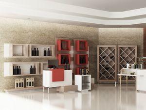 Revolution - muebles para la tienda de vinos, Muebles para tiendas, bares de vino