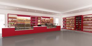 Revolution - muebles para panadería, Muebles diseñados específicamente para panadería