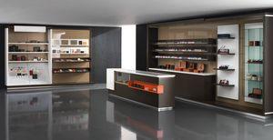 Revolution - muebles para tiendas de tabaco, Exhibición de muebles para estancos y papelerías