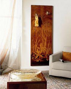 A416, Capa de la pared de lujo clásico en madera