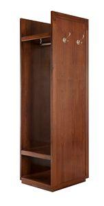 Villa Borghese perchero móvil 7369, Colgador de ropa estilo directoire