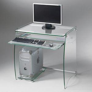 Art. 905 Rack, Soporte de PC de escritorio, en vidrio transparente
