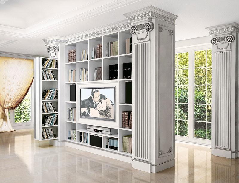 Soporte de la TV para la sala de estar contemporánea clásica, para ...