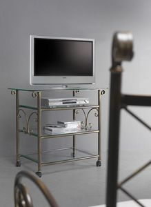 Apollo Cart, Carro de TV con tapa de cristal