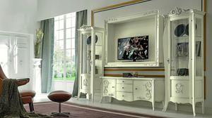 Arabesque, Mueble de televisión de estilo barroco.
