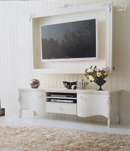 Art. 100Tv 101Tv, Mueble para TV con elemento colgante.