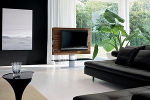 CORTES, Mueble de televisión para la sala, con el estante