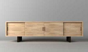 Jachi, Muebles de estilo japonés con puertas correderas.